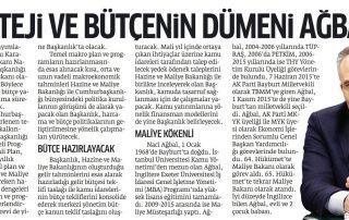 Strateji ve Bütçenin Dümeni AĞBAL'da-Star - 26.07.2018