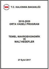 2018-2020 Temel Makro Ekonomik Mali Hedefler