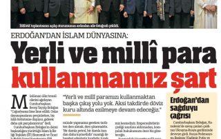 Yerli ve milli para kullanmamız şart-Türkiye-29.11.2018