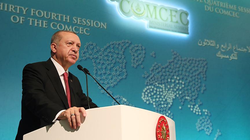 34. İSEDAK Bakanlar Toplantısı Cumhurbaşkanı Recep Tayyip ERDOĞAN başkanlığında gerçekleştirildi.
