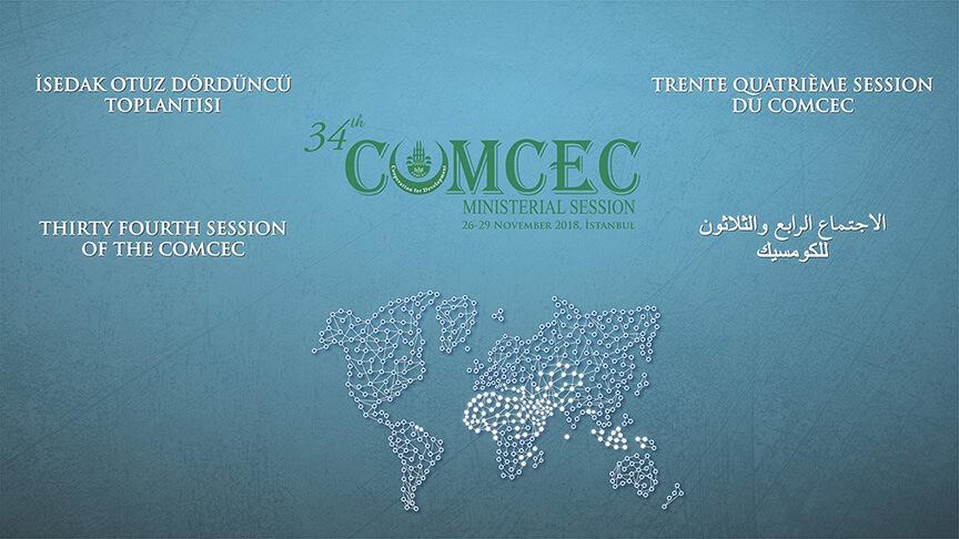 COMCEC 34 Toplantısı Görseli