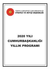 2020 Yili Cumhurbaskanligi Yillik Programi