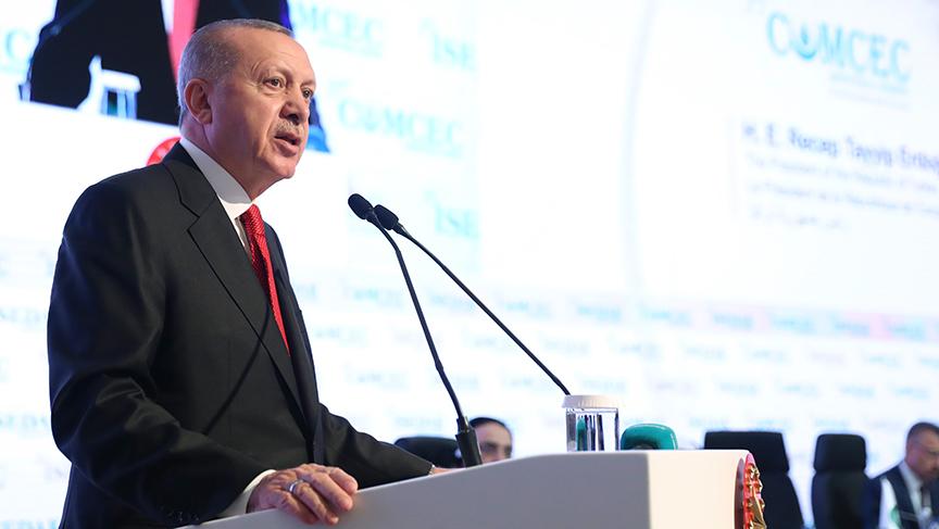 35. İSEDAK toplantısında Cumhurbaşkanının Konuşması