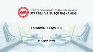 Ekonomik Gelişmeler 2021 yılı 1. Çeyrek 14062021